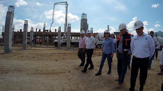 Nuevo hospital del IMSS en Tarímbaro con avance del 40 por ciento