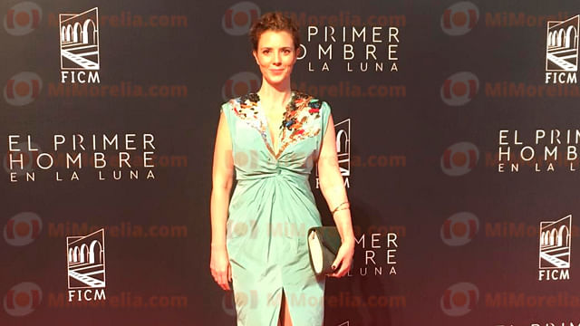 La actriz Johana Murillo engalanó la alfombra roja de este festival (Foto: Ariana Castellanos)