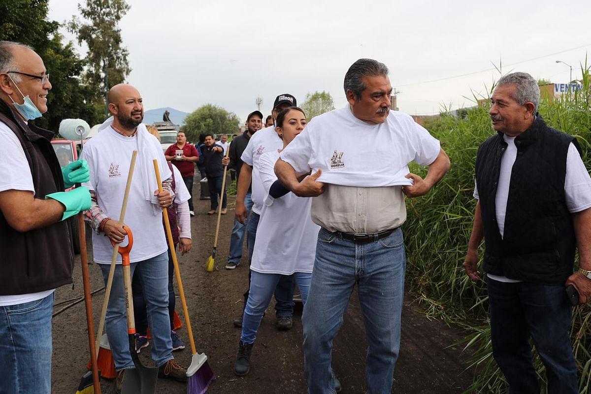 Convoca Raúl Morón a la ciudadanía a sumarse a las Jornadas de Limpieza en Morelia