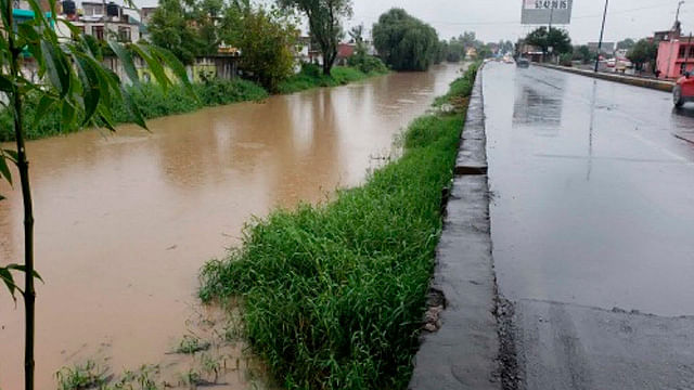 Por escurrimiento natural, la inundación de Policía y Tránsito, precisa Ayuntamiento