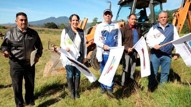Inician obras en Normal Indígena de Michoacán