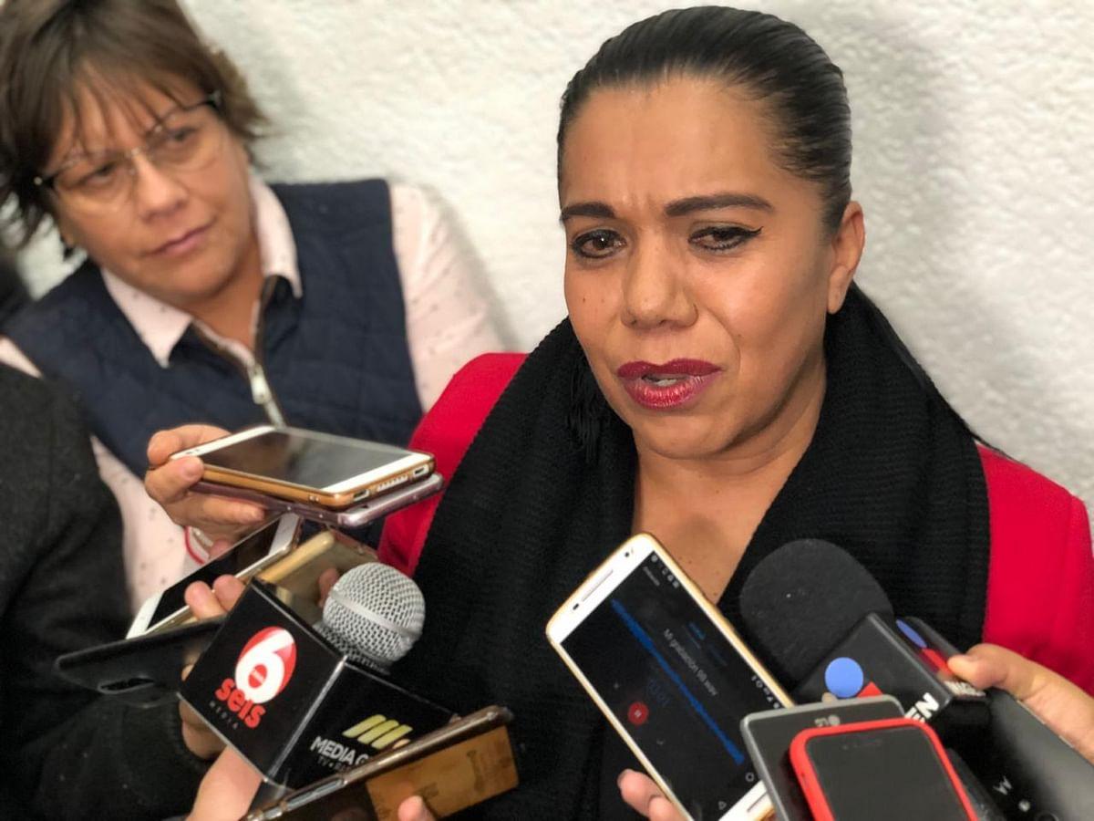 Oficializa Wilma Zavala su separación de la bancada de Morena