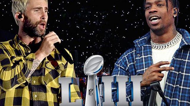 Maroon 5 y Travis Scott encargados del medio tiempo del Super Bowl