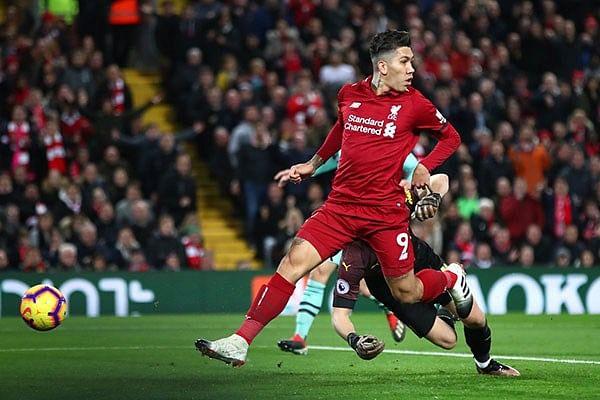 Fiesta en Anfield: Liverpool goleó al Arsenal en la EPL