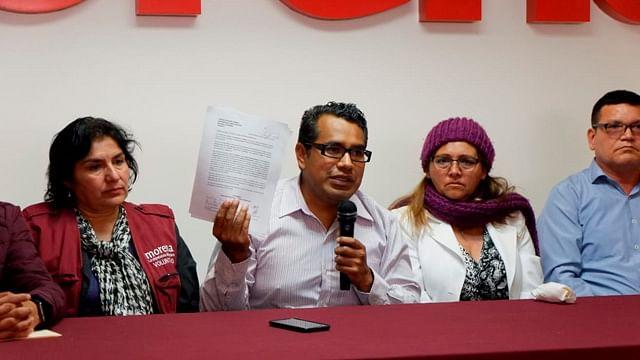 Consejeros estatales piden designación de Sergio Pimentel como líder estatal de Morena