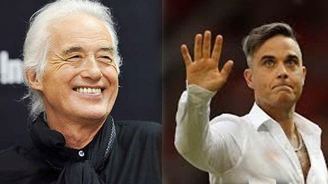 Robbie Williams gana demanda contra Jimmy Page