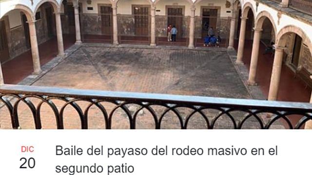 Estudiantes realizan baile masivo de Payaso del Rodeo en Morelia (videos)