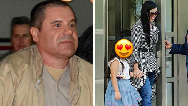 Chapo Guzmán llora al ver a sus hijas en la Corte
