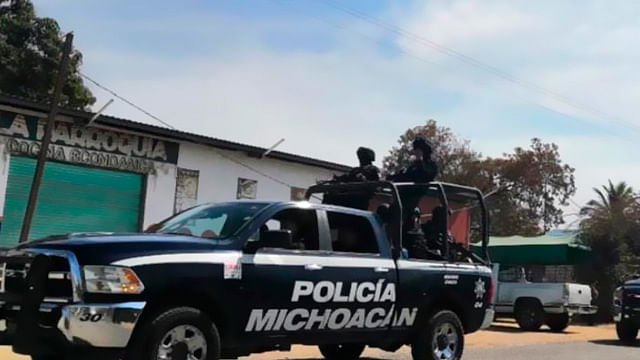 (Foto Facebook: Secretaría de Seguridad Pública de Michoacán)