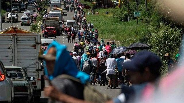 Llegan más de dos mil 500 centroamericanos a Veracruz