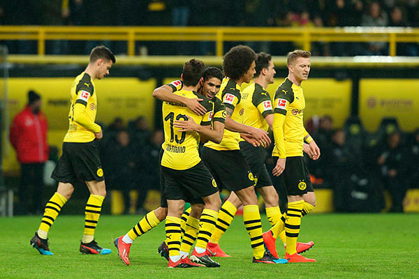 Borussia Dortmund sigue imparable en la Bundesliga