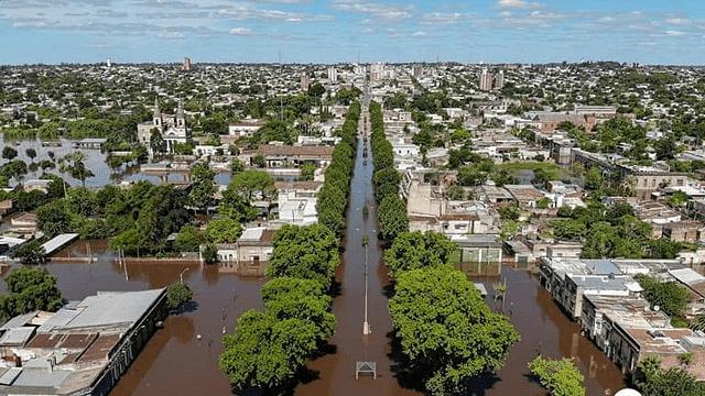 Lluvias e inundaciones dejan alrededor de 6 mil desplazados en Uruguay