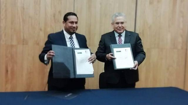 Instituto de la Defensoría firma convenio de capacitación con el Poder Judicial