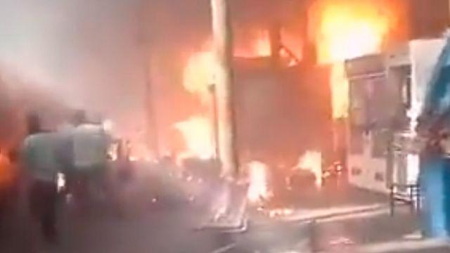 Incendio en estación de tren en El Cairo deja 25 fallecidos