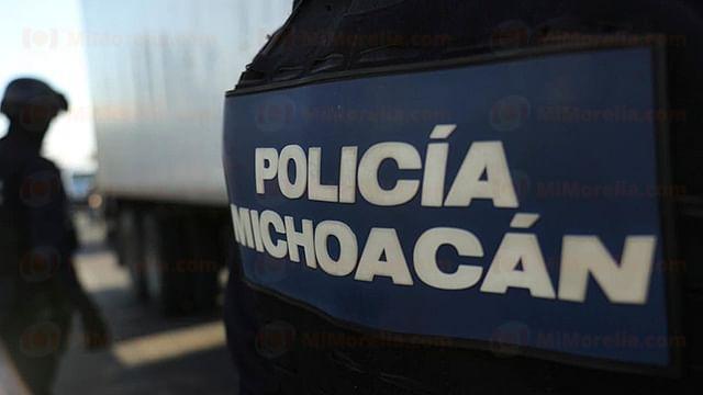 Asaltan a mujer en Morelia y la Policía Michoacán detiene a 3 empistolados