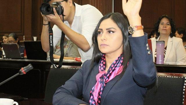 GPPRD darán voto de confianza a Guardia Nacional: Araceli Saucedo