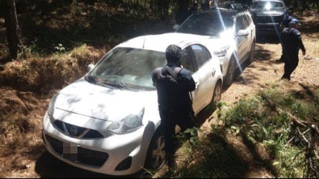 Aseguran dos unidades con reporte de robo en Uruapan