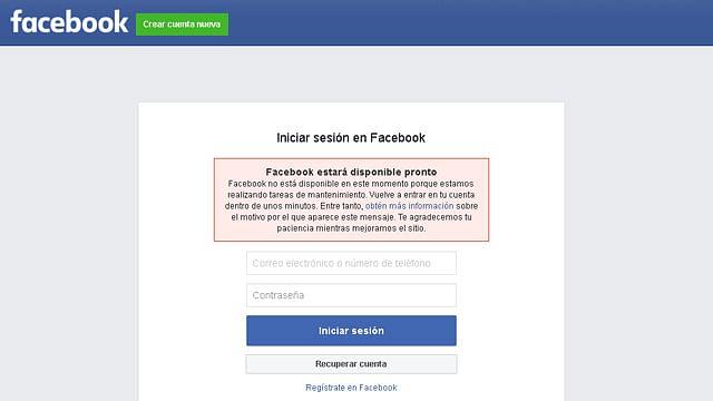 El caído de la semana: Facebook