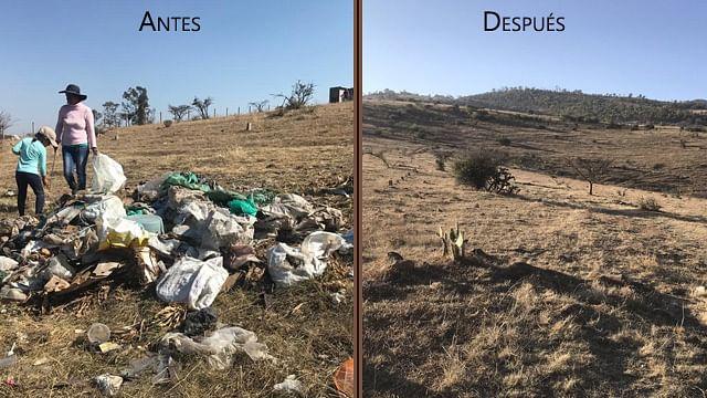 Impresionante: Morelianos se unen al #BasuraChallenge y limpian cerro