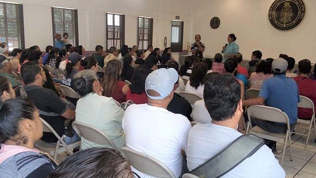 Antorchistas de Uruapan dan seguimiento a sus demandas en el municipio
