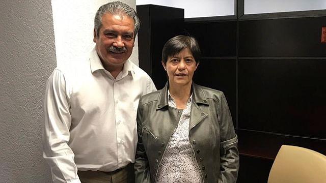 Raúl Morón se reúne con directora de Conagua