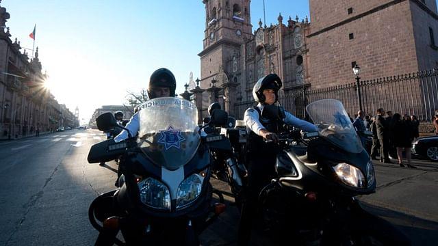 (Foto Facebook: Policía de Morelia)