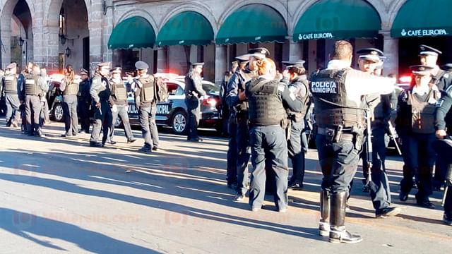 Inicia operativo de seguridad por Semana Santa en Morelia