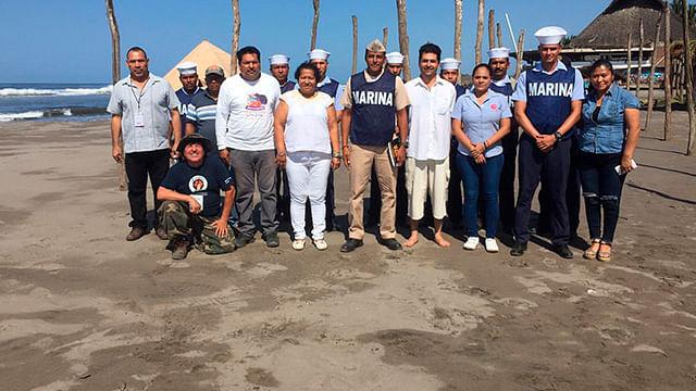 Lograron recolectar siete toneladas de basura, en recorridos que se efectuaron en diferentes playas (Foto: cortesía)