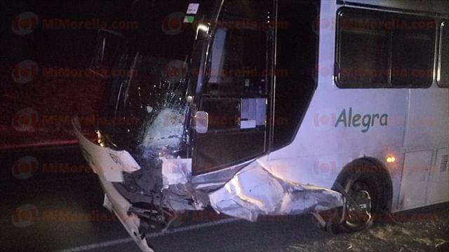 el autobús involucrado en los hechos es un Alegra, con número económico 607 y placa 622HV6 (Foto: Red 113)