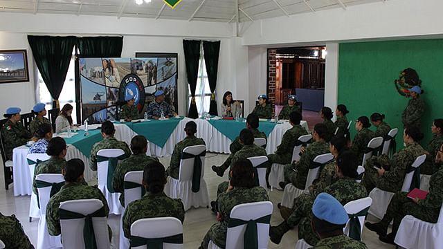 Uno de los objetivos es contribuir eficientemente a la implementación de un mandato de las Naciones Unidas (Foto: Cortesía)