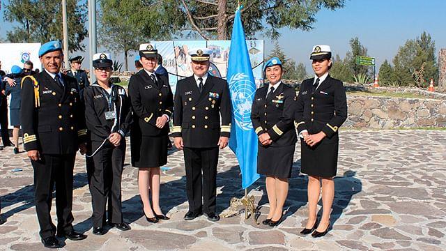 Recibe SEMAR capacitación de la ONU en Operaciones de Paz