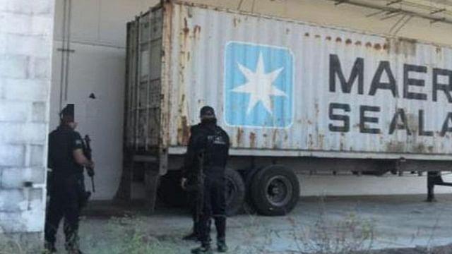 Recupera Policía Michoacán contenedor con mercancía robada