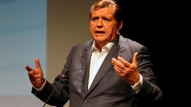Confirman muerte de expresidente de Perú tras dispararse en la cabeza
