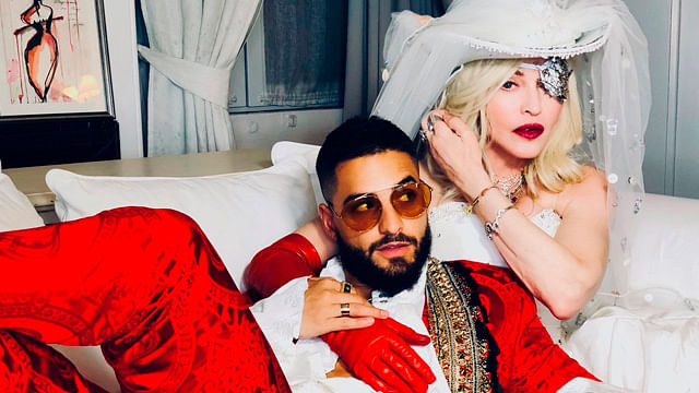 Lista la canción de Madonna y el reguetonero, Maluma ¡escúchala!