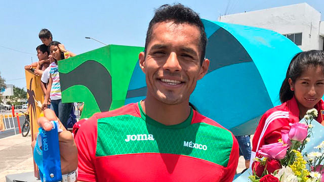 Isaac Antonio Palma se proclama campeón de la Copa Panamericana de Marcha