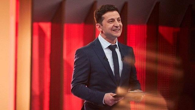 El comediante Volodimir Zelenski es el nuevo presidente de Ucrania