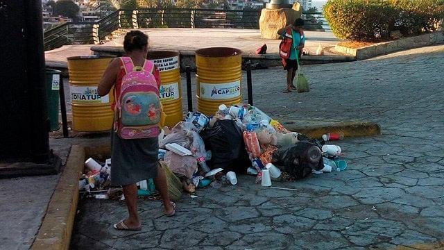 Vacacionistas dejan 90 toneladas de basura al día en Acapulco
