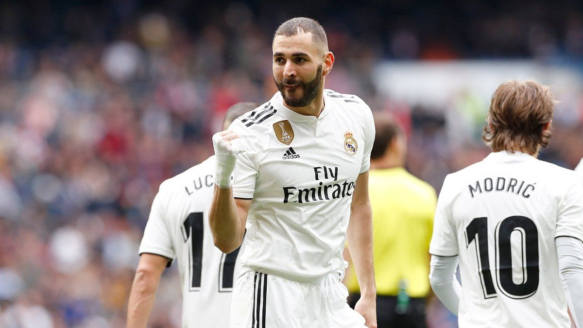 Real Madrid aplastó al Athletic Club con hat-trick de Benzema