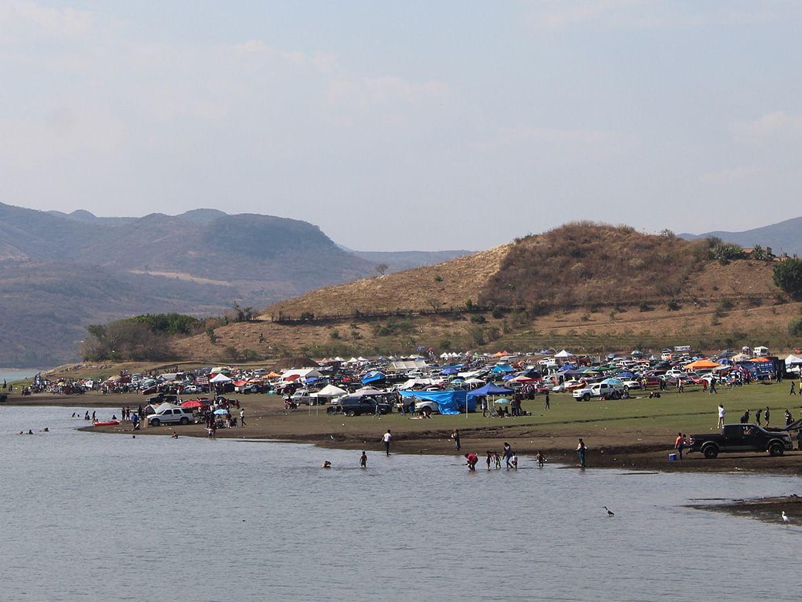 La presa El Bosque, un referente para el turismo regional durante Semana Santa