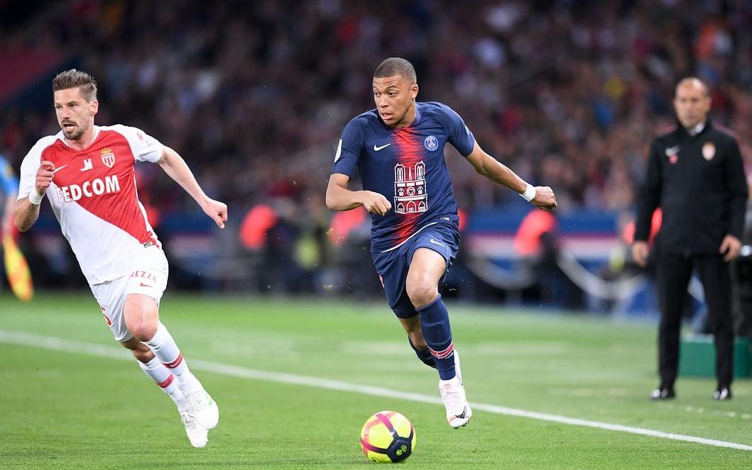 Mbappé es el jugador más joven en llegar a 30 goles en una temporada del futbol francés (Cortesía Twitter: @PSG_inside)