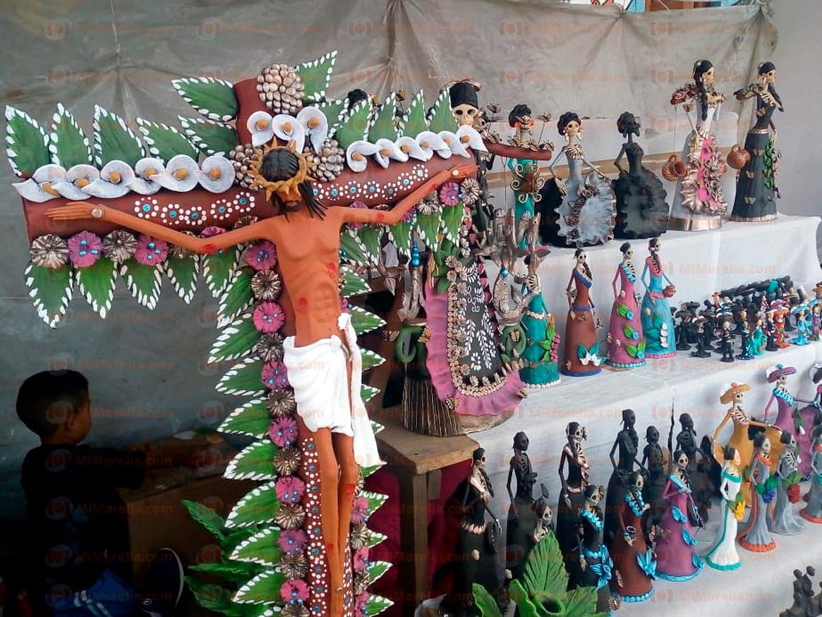 Concluye con éxito primera Expo Artesanal Cruz de Barro