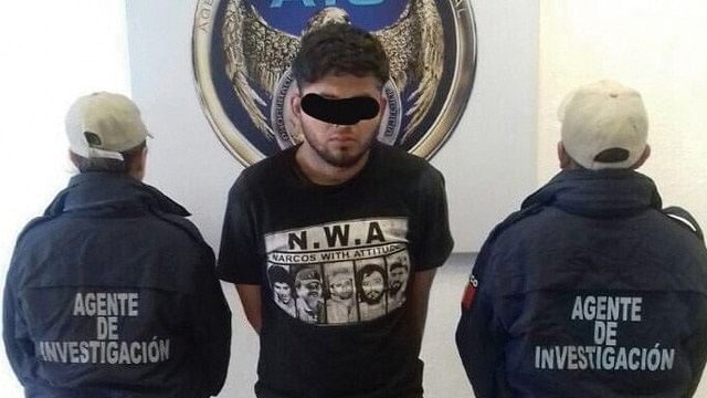 "Detienen a ""El Titi"", integrante del Cártel de Santa Rosa"