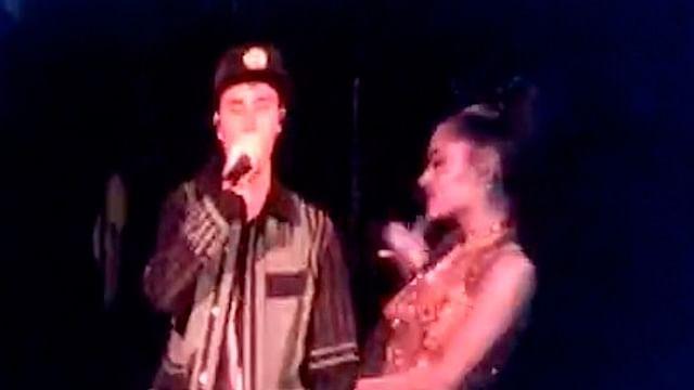 Ariana Grande y Justin Bieber sorprenden en Coachella