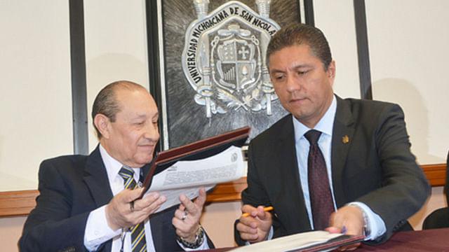 La UMSNH y el INEGI firman convenio de colaboración