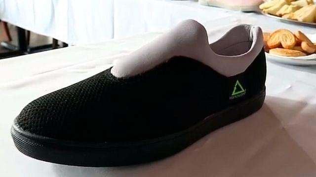 ¡Nueva moda! Zapatos con sargazo y PET
