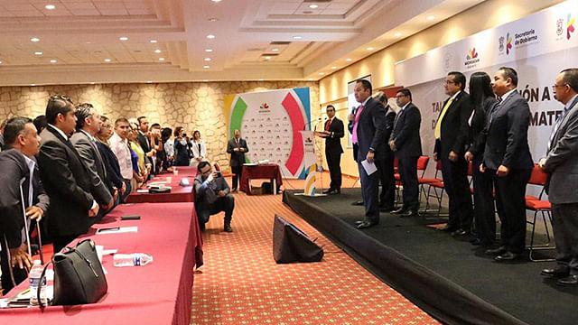 Inaugura Carlos Herrera taller de juicios administrativos en línea