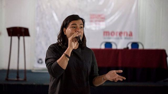 Sergio Pimentel también hizo un llamado a que no haya disputas internas dentro de Morena (fotos: cortesía)