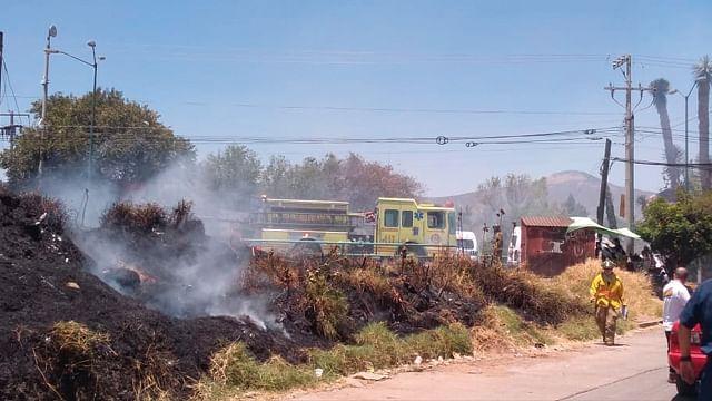 PC Municipal atendió cuatro incendios forestales este sábado