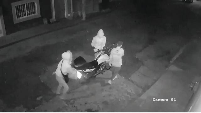 """Denuncian """"modus operandi"""" de robo de motos en Morelia (Video)"""