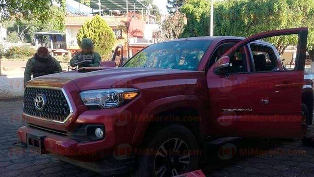 Mueren tres al enfrentar a tiros a soldados, en Salvador Escalante